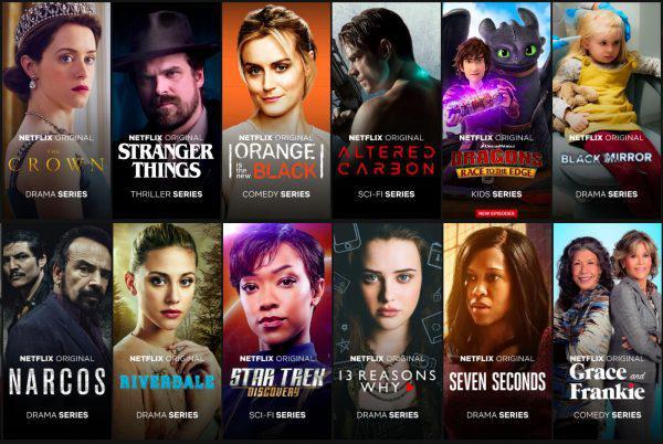 Les 11 meilleures séries Netflix 2018 (première partie)